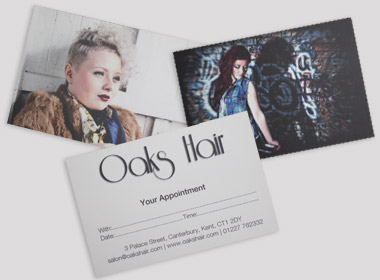 Oaks Hair Cards